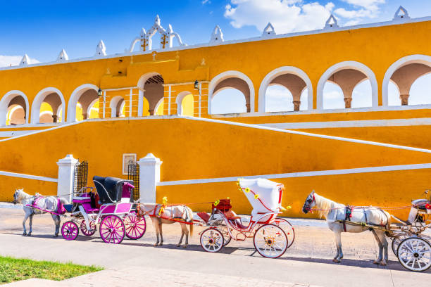 Izamal, Mexiko. – Foto