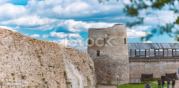Izborsk Fortress, Russia.