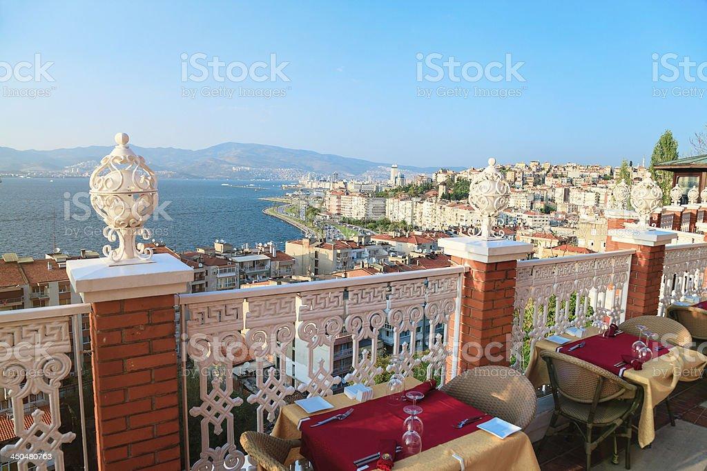 Izmir City stock photo