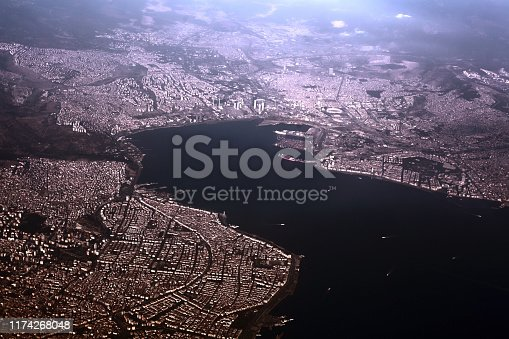 istock Izmir in Bird's Eye View 1174268048