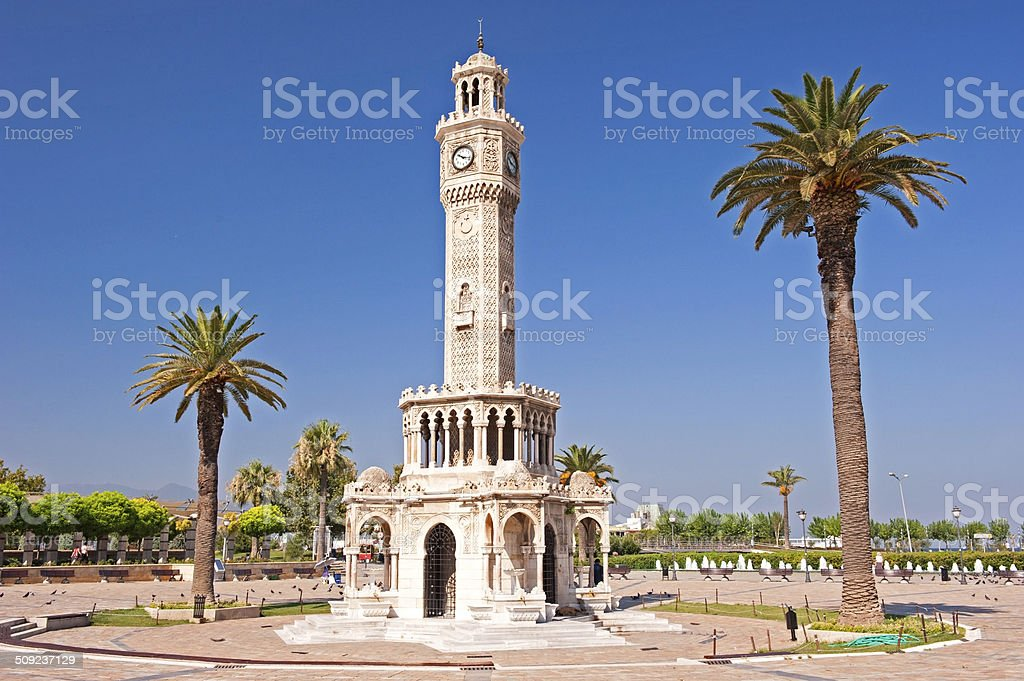 Izmir Konak square stock photo