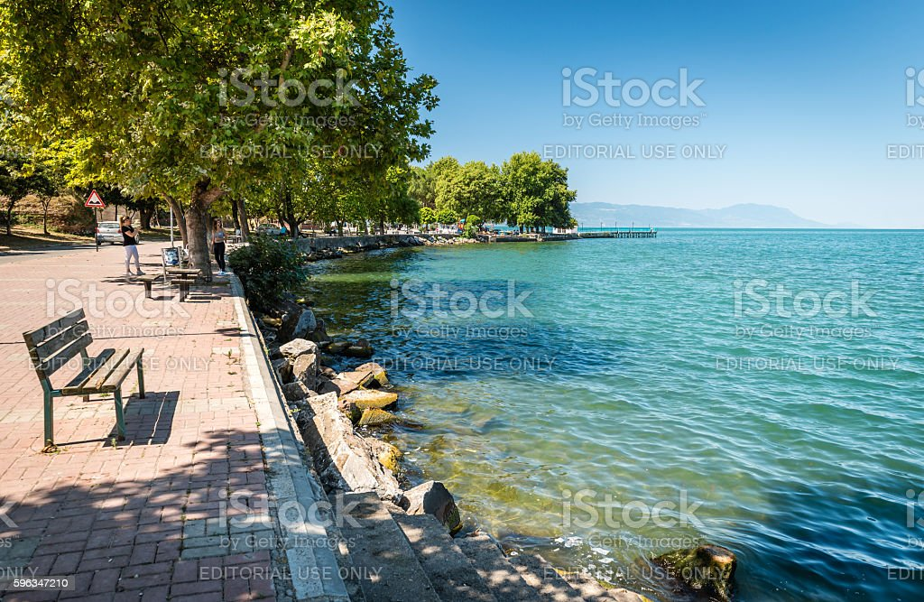 Iznik lake in Turkey royalty-free stock photo
