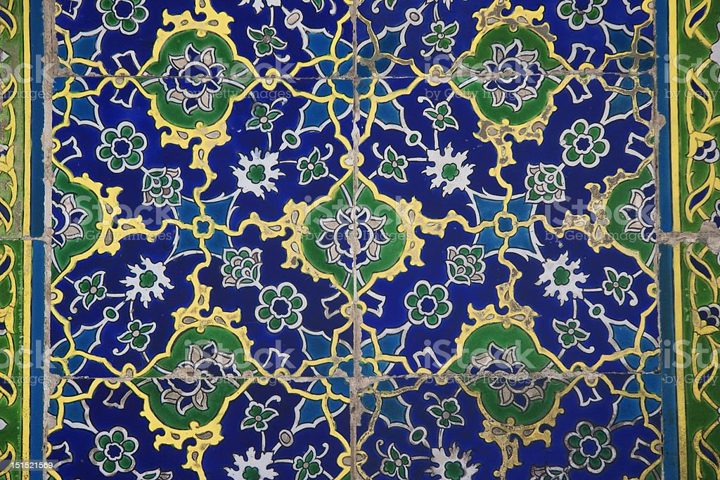 Iznik Tiles in Istanbul stock photo