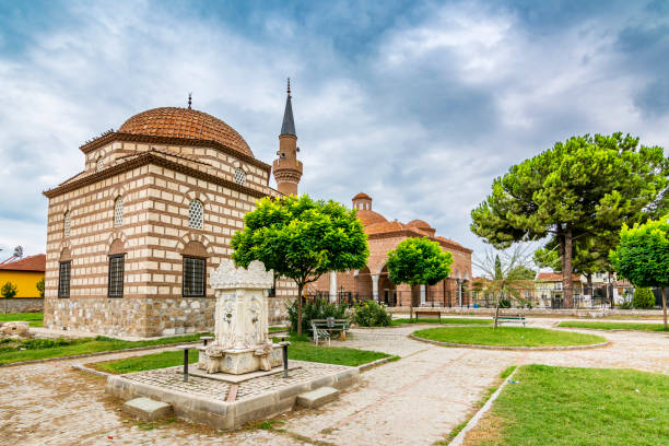 Iznik Town in Bursa Province stock photo