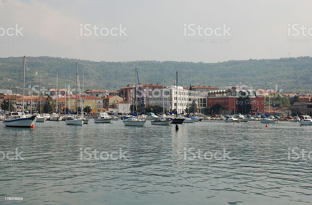 Izola Waterfront royalty-free stock photo