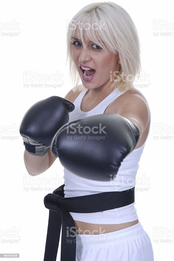 Jab royalty-free stock photo