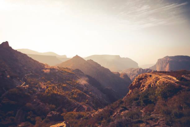 山綠山脈阿曼 - oman 個照片及圖片檔
