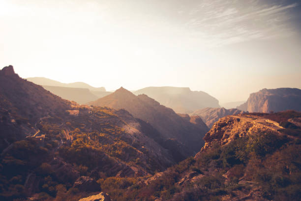 jabal akhdar mountain range, oman - oman стоковые фото и изображения