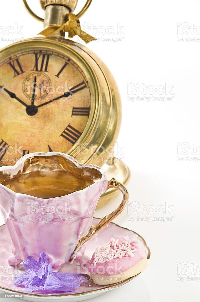 Jacaranda Tea royalty-free stock photo
