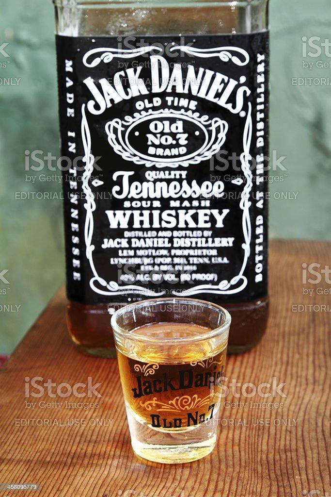 Jack Daniels Old nº 7 whisky - foto de stock