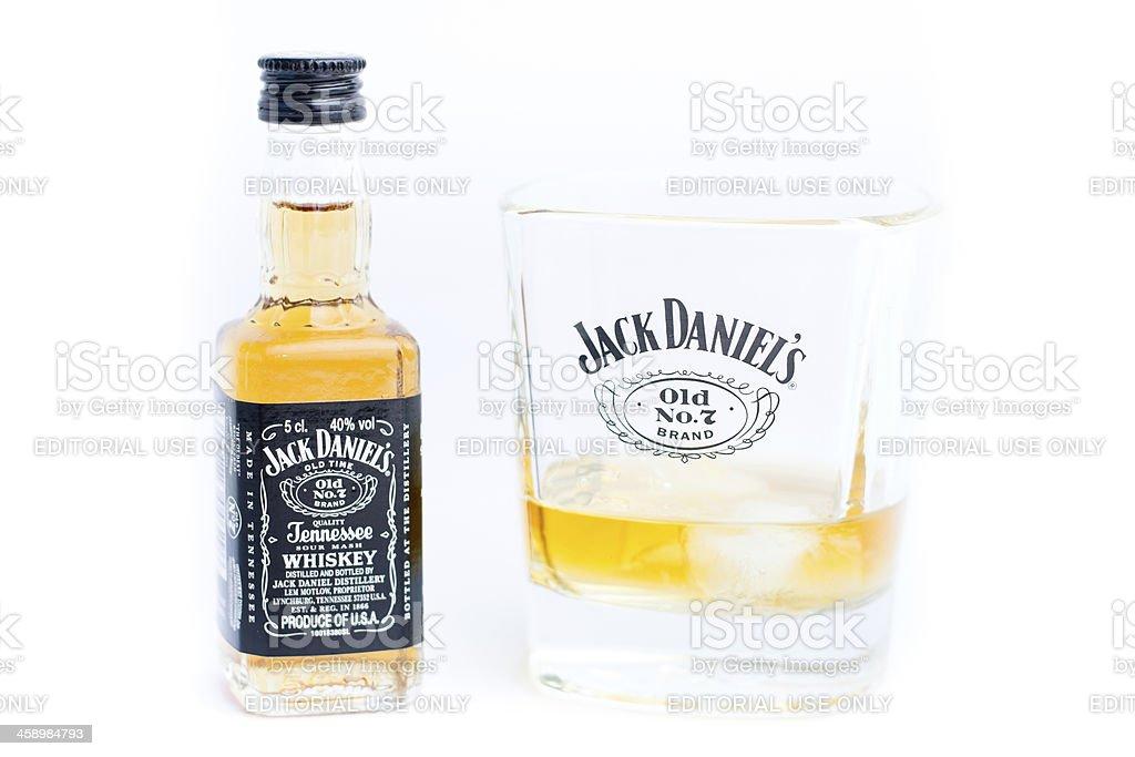 Jack Daniel's Old n.º 7 whisky - foto de stock