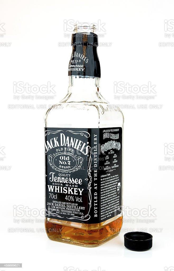 Jack Daniel's whisky. - foto de stock