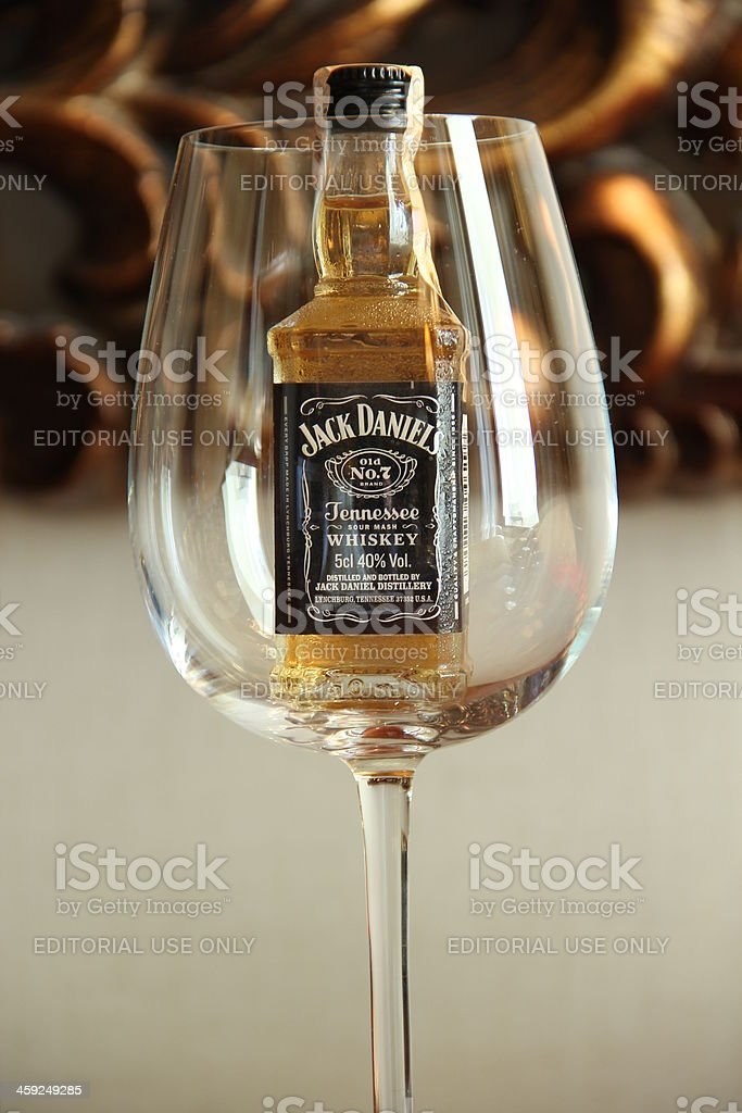 Jack Daniels whisky - foto de stock
