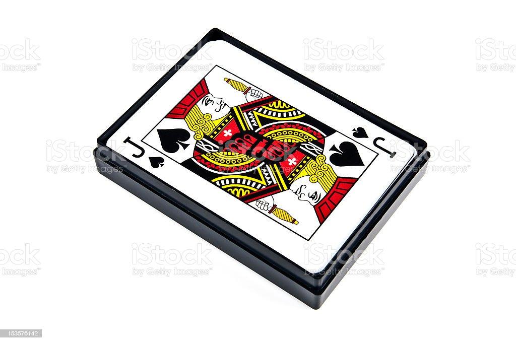 Jack of spades royalty-free stock photo