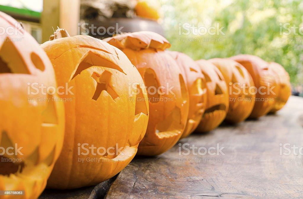 Jack O'Lantern Halloween royalty-free stock photo