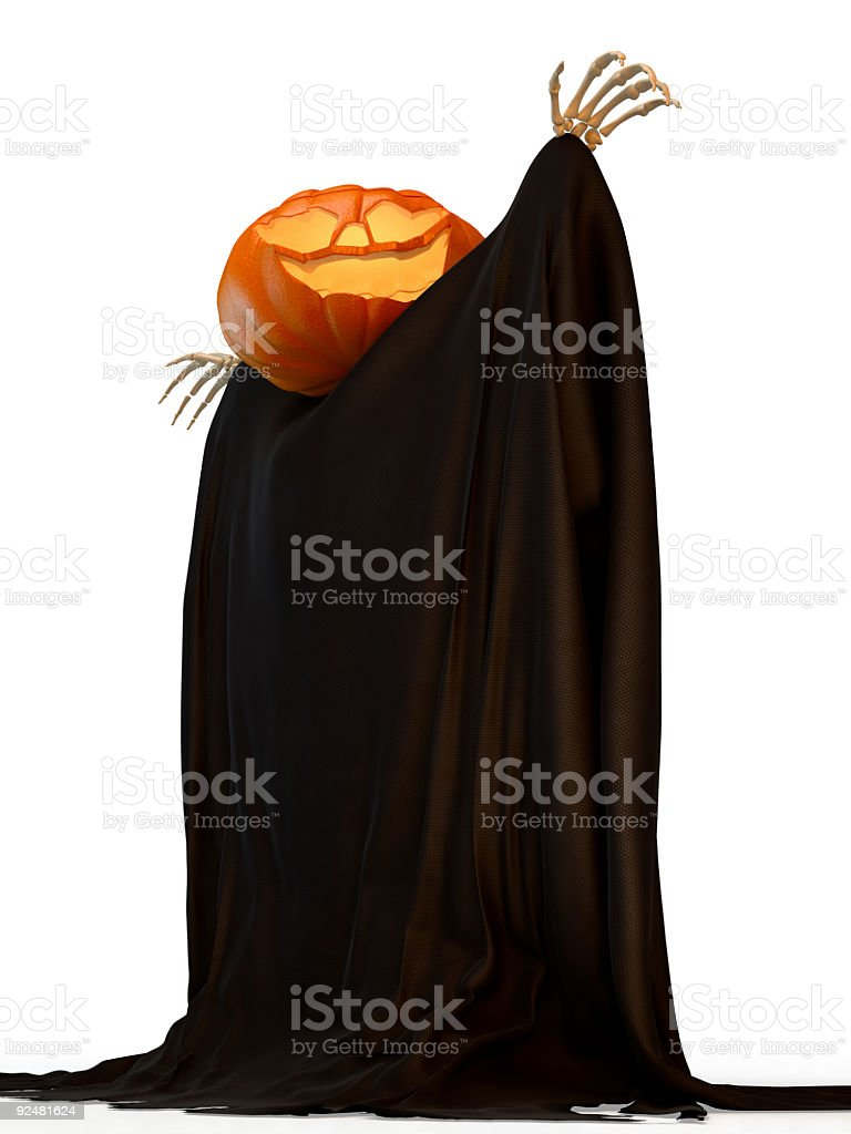 Jack O'Lantern royalty-free stock photo