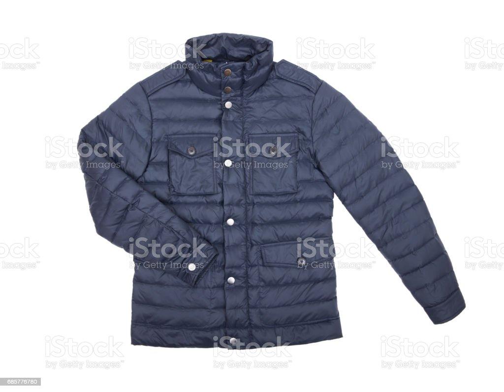 jacket isolate on white royalty-free stock photo