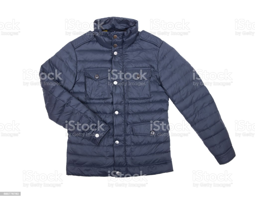 jacket isolate on white 免版稅 stock photo