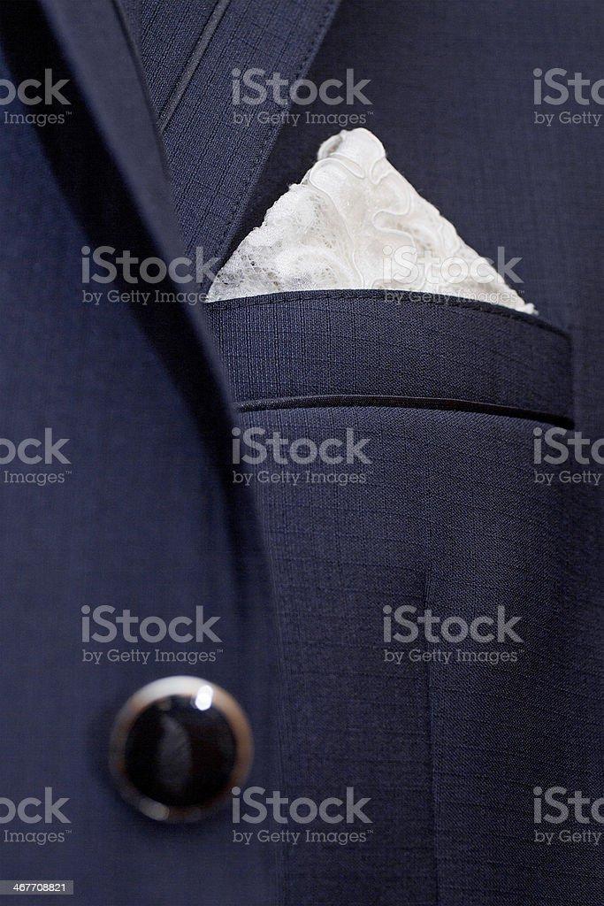 jacket pocket stock photo