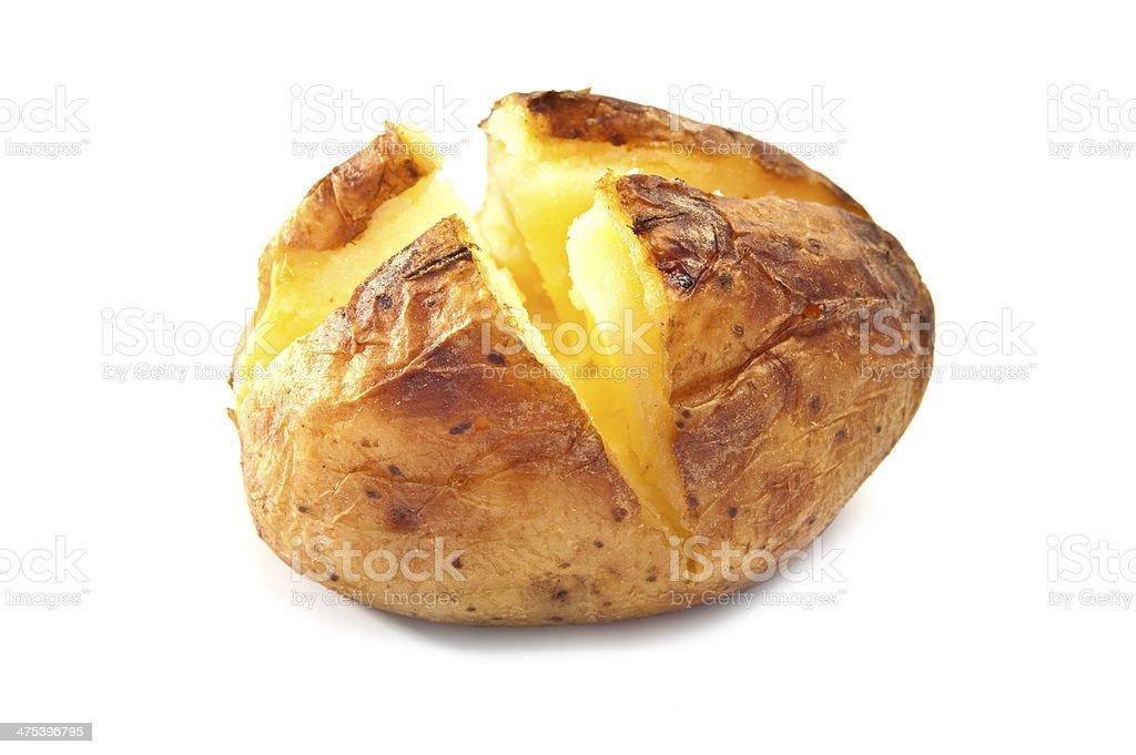 Jacket Potato stock photo