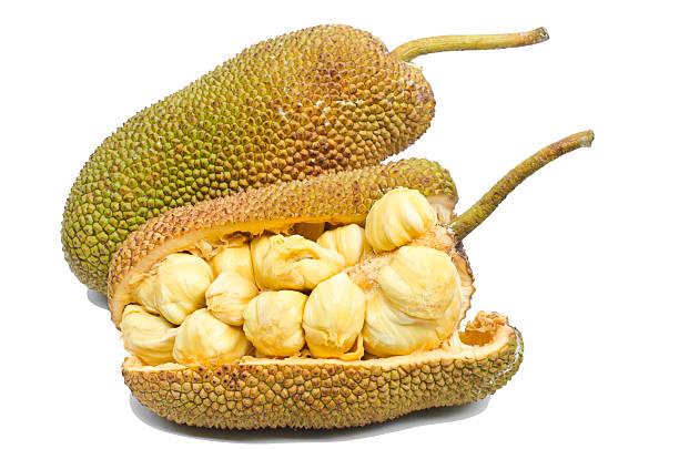 jackfrucht obst. - jackfrucht stock-fotos und bilder