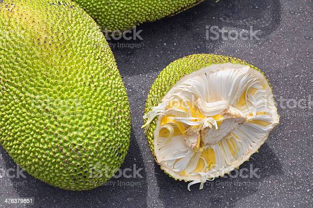 Jackfruit whole and open at fruit stall picture id476379851?b=1&k=6&m=476379851&s=612x612&h=par wbryhdiqfdc5f8yjfppwbxjihly2s jk2ydsapo=