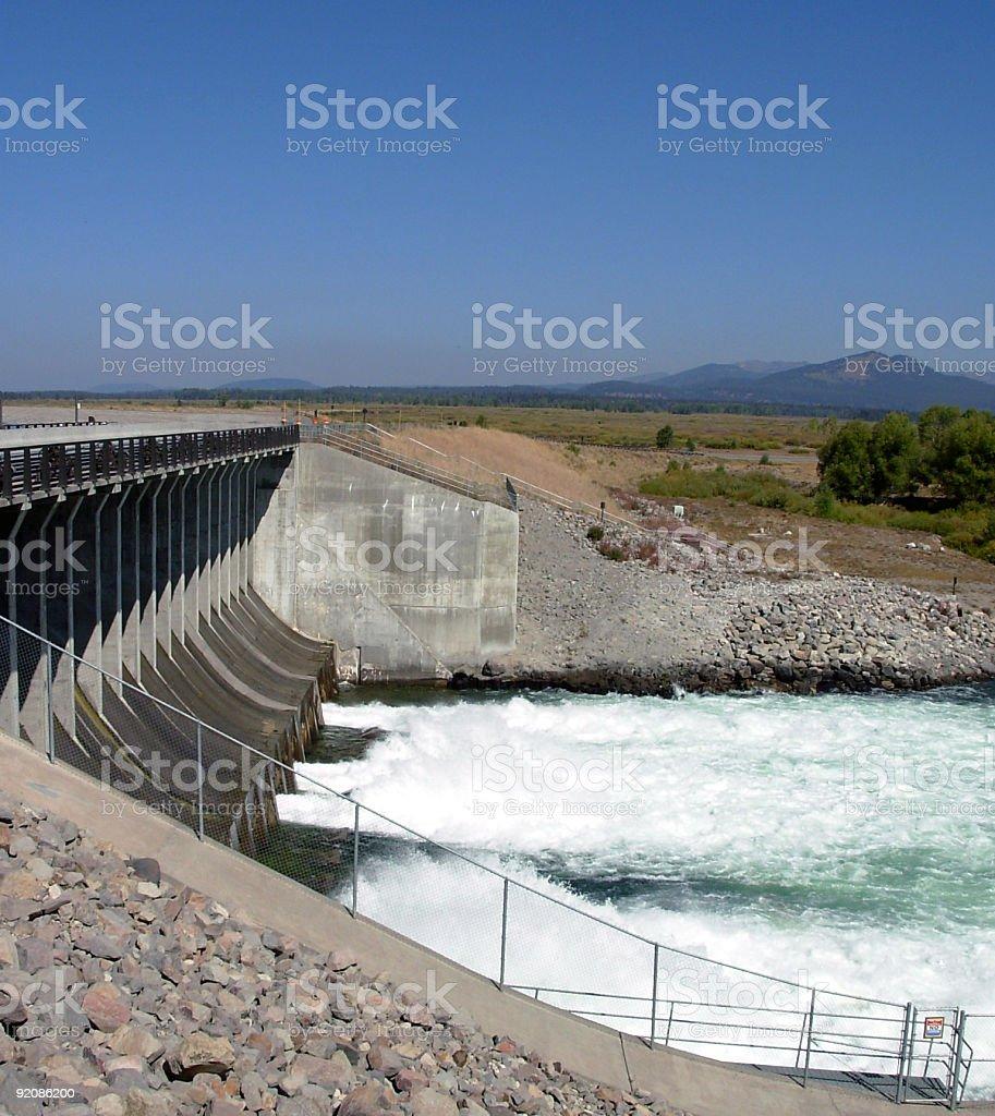 Jackson Dam stock photo