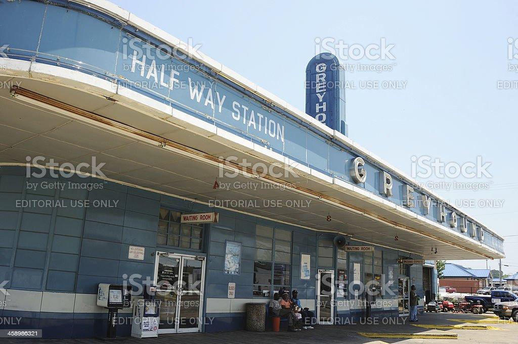 Jackson Greyhound Bus Station stock photo