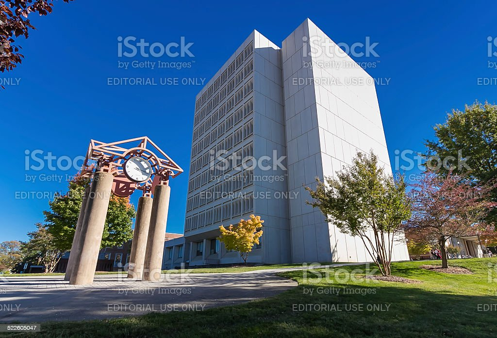 Jackson Library at UNCG stock photo