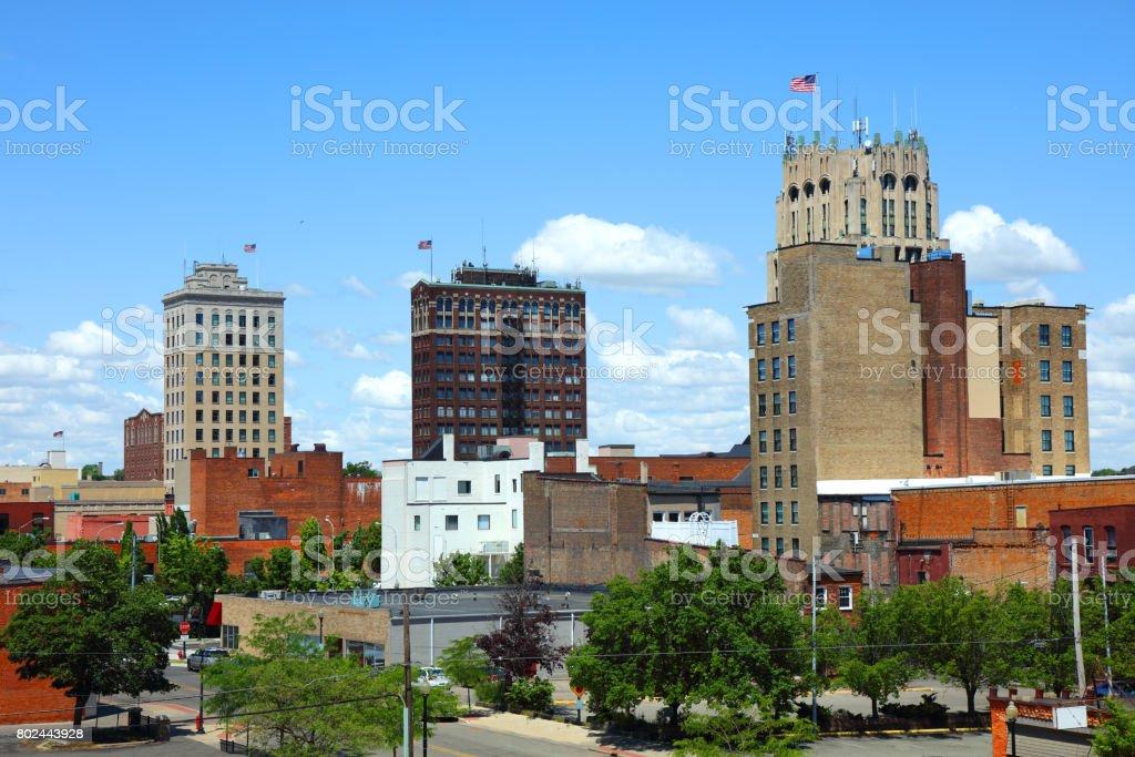 Jackson, Michigan stock photo
