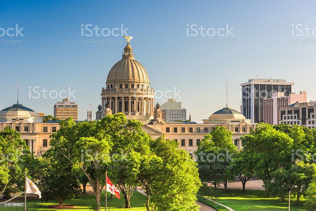 Jackson, Mississippi, USA stock photo