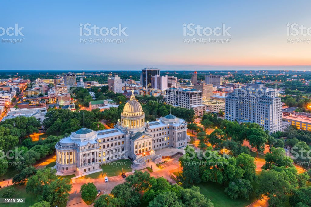 Jackson, Mississippi, USA stock photo