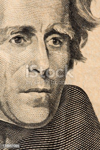 Andrew Jackson on a 20$ bill