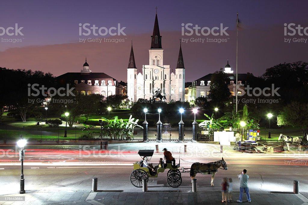 Jackson Square stock photo