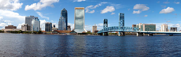 Jacksonville, Florida (panoramic) stock photo