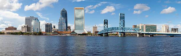 Jacksonville, Florida (panoramic) stock photo