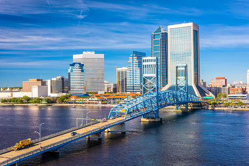 Jacksonville Florida at Daybreak Photograph by Frozen in ...  |Jacksonville Florida Photography