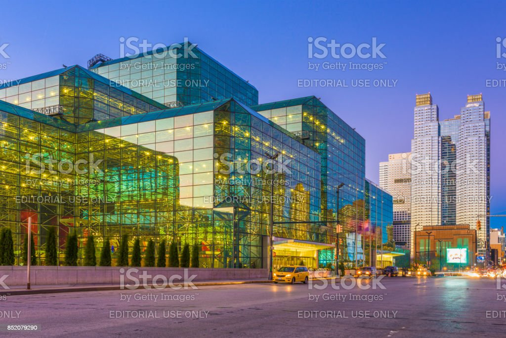 Jacob K. Javits Convention Center stock photo