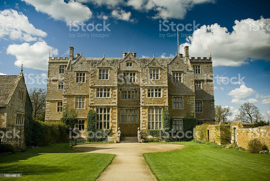 Jacobean Mansion stock photo
