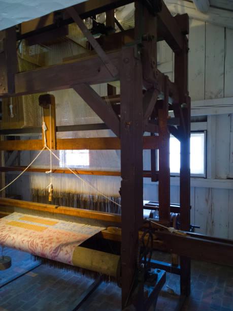 Jacquard Loom stock photo