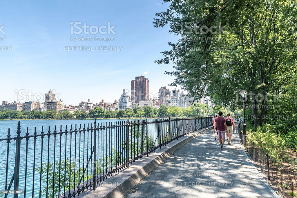 Jacqueline Kennedy Onassis Reservoir stock photo