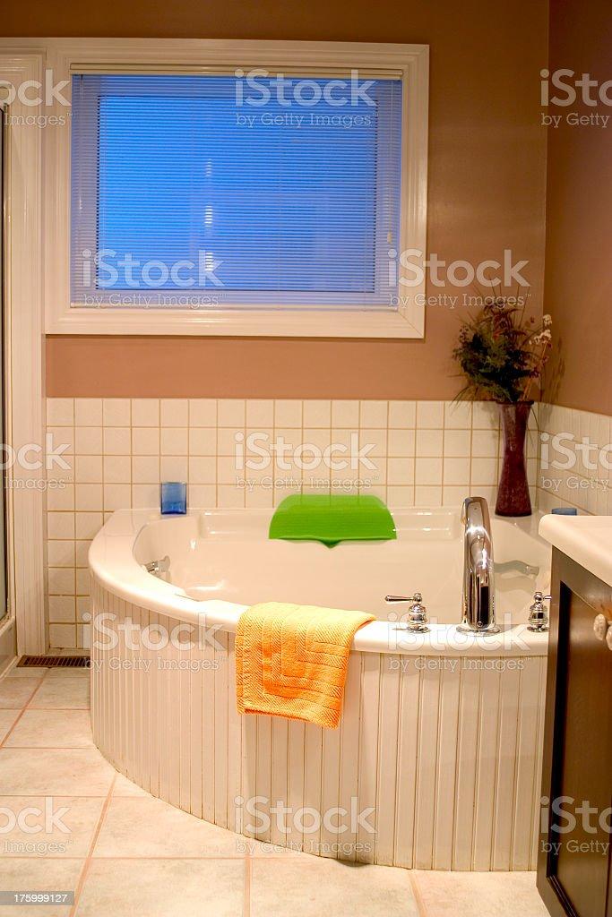 Jacuzzi Bath royalty-free stock photo
