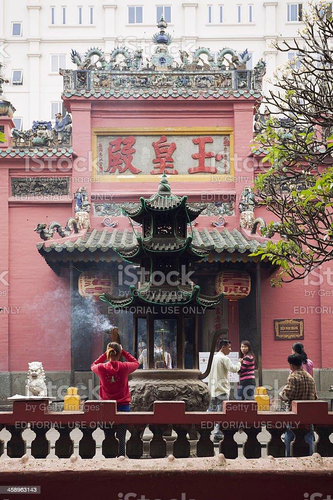 Jade Emperor Pagoda stock photo