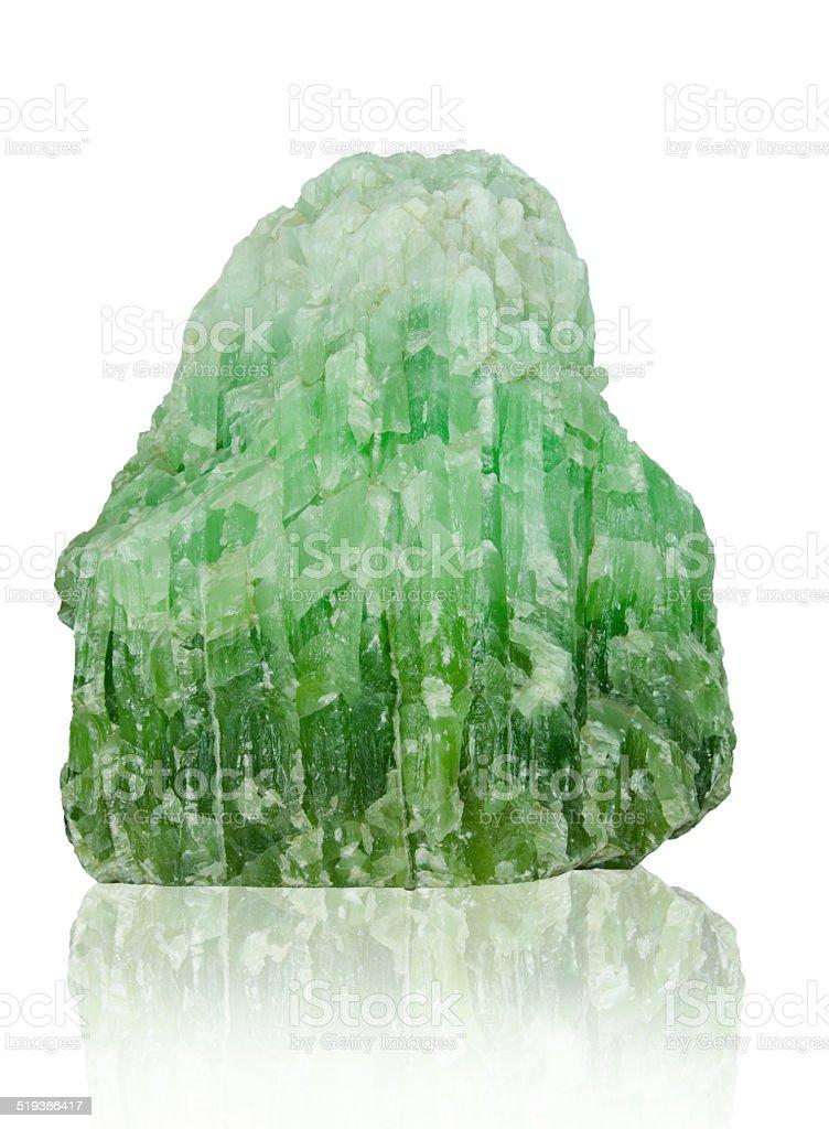 jade isolated on white background stock photo