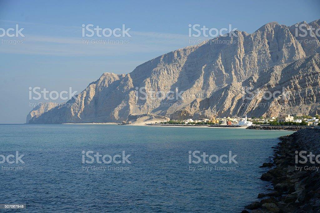 Jadi, Musandam, Oman stock photo