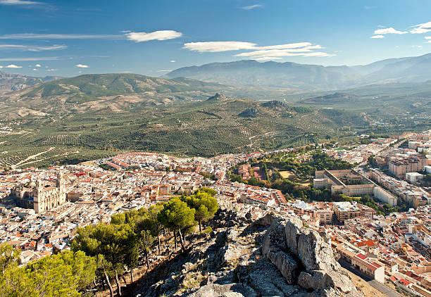 Jaen City Spain stock photo