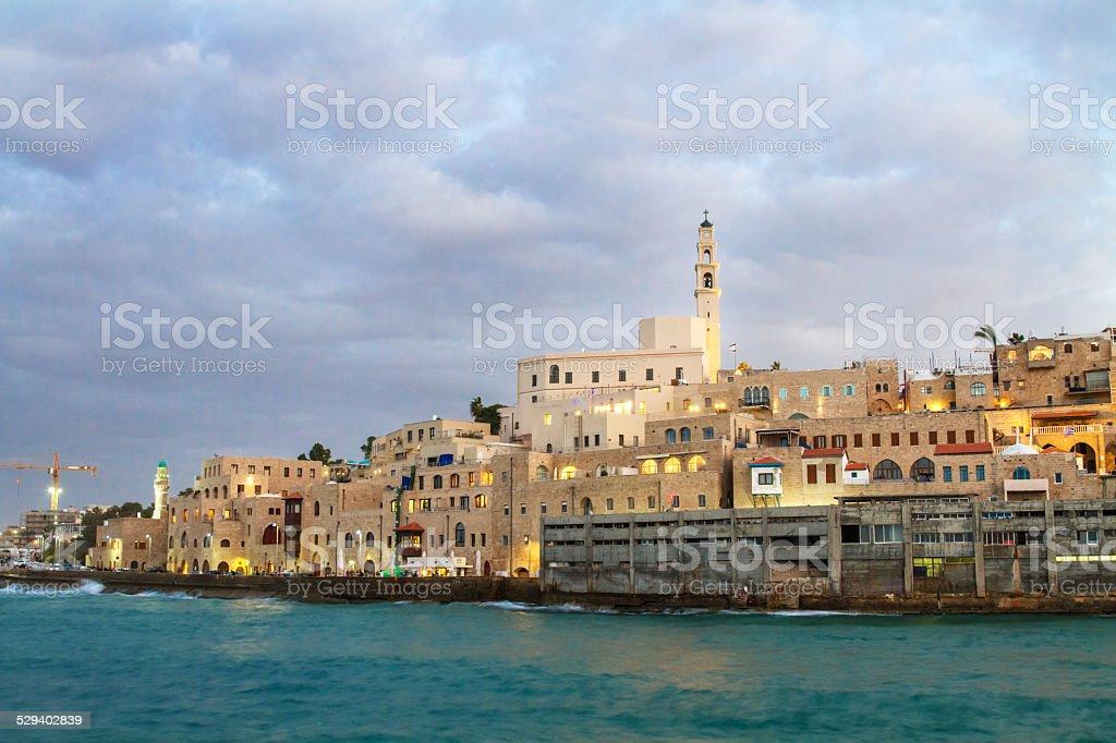 Jaffa port. stock photo