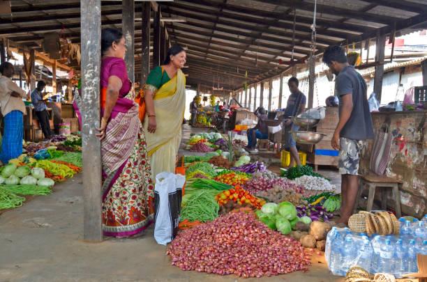 Jaffna Market stock photo