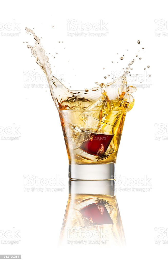 Jagermeister splash energydrink stock photo
