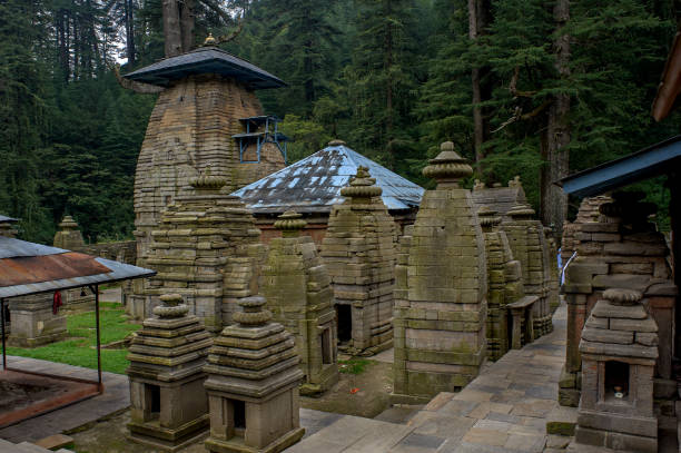 Jageshwar Temple complex 7th to 12th century Nagara Architecture Almora district Uttarkhand